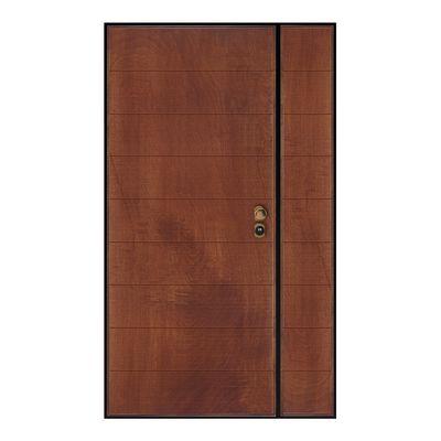 Porta blindata Big 2 ante noce L 120 x H 210 cm dx: prezzi e offerte ...