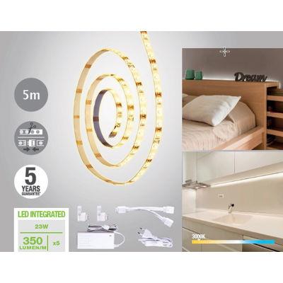 Kit striscia LED estensibile Inspire luce calda m5: prezzi e offerte ...