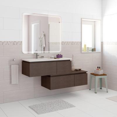 Mobile bagno Avril rovere L 100 cm: prezzi e offerte online