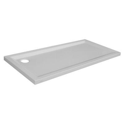 Piatto doccia acrilico Sensea Houston 70 x 180 cm bianco: prezzi e ...