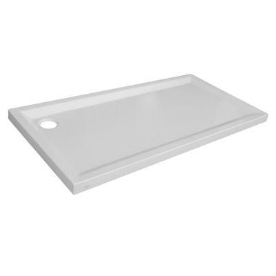 Piatto doccia acrilico Sensea Houston 70 x 160 cm bianco: prezzi e ...