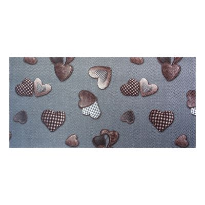 Tappetino cucina antiscivolo Full cuore grigio 55 x 180 cm: prezzi ...