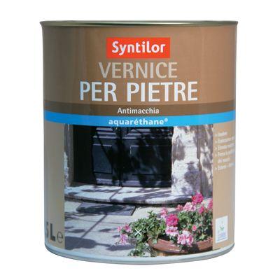 Vernice per pietre syntilor trasparente opaco 2 5 l for Prezzi mattoni refrattari leroy merlin