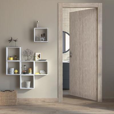 Porta da interno battente cedar sabbia 80 x h 210 cm reversibile prezzi e offerte online - Porte interno leroy merlin ...