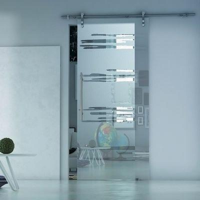 Porta da interno scorrevole Lux Neutro 86 x H 215 cm sx: prezzi e ...
