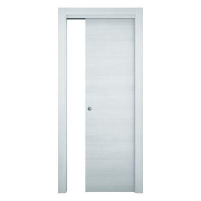 Porta da interno scorrevole Star Bianco matrix 80 x H 210 cm ...