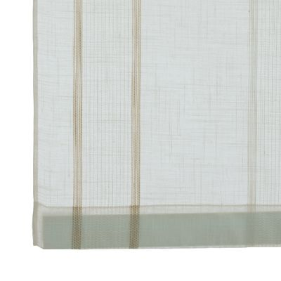 Tendina a vetro per finestra Claudia beige 60 x 150 cm: prezzi e ...