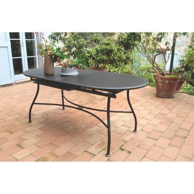 Tavolo allungabile evo 180 x 90 cm marrone prezzi e offerte online - Offerte tavoli da giardino ...