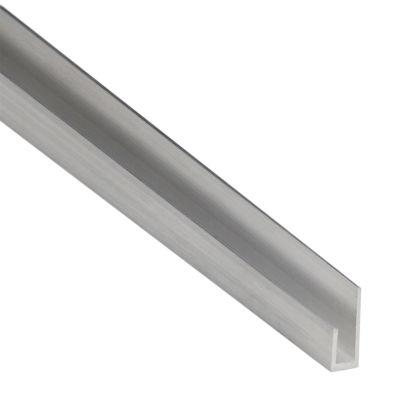 Unghietta in alluminio anodizzato, L 18 x H 8 x S 1 mm x P 2,6 m ...