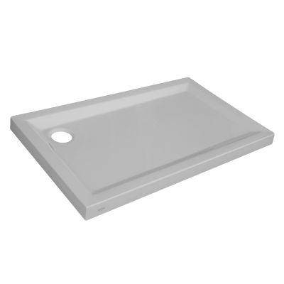 Piatto doccia acrilico Sensea Houston 70 x 120 cm bianco: prezzi e ...
