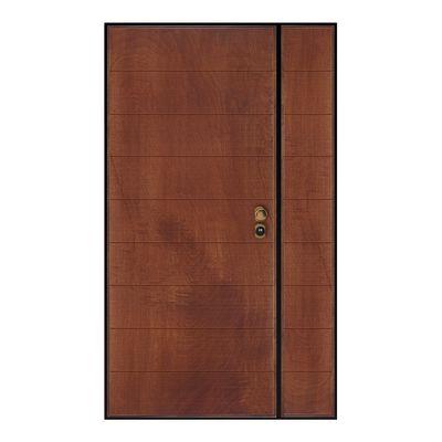 Porta blindata Big noce L 80 + 40 x H 210 cm sx: prezzi e offerte online
