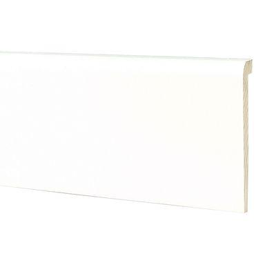 Profilo legno laccato bianco 18 x 95 x 2500 mm: prezzi e offerte online
