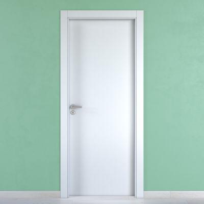 Porta da interno battente Cream bianco 70 x H 210 cm reversibile ...