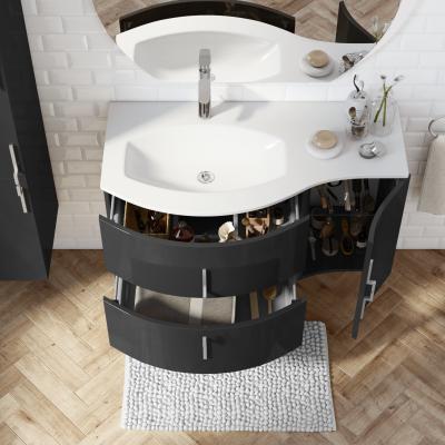 Mobile bagno Sting nero L 104 cm: prezzi e offerte online