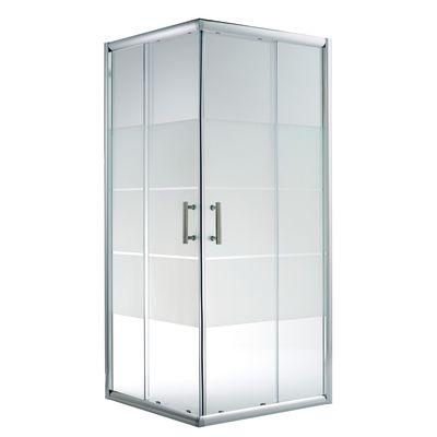 Piastrelle effetto legno bagno - Box doccia vetrocemento ...