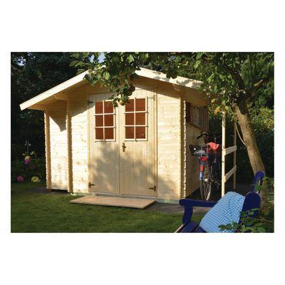 casetta in legno grezzo Oslo 4,24 m², spessore 19 mm: prezzi e ...