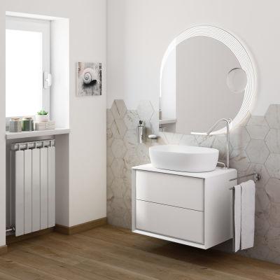 Mobile bagno Devon bianco L 70 cm: prezzi e offerte online