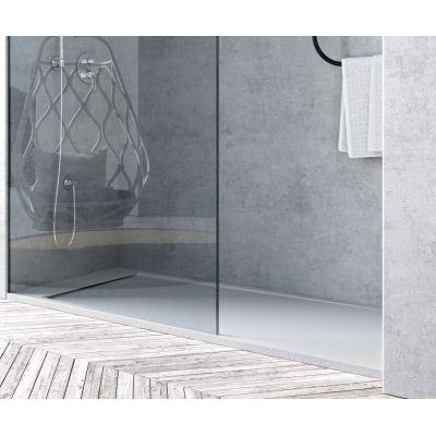 Piatto doccia resina River 170 x 70 cm bianco: prezzi e offerte online