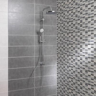Piastrella Sirio Muretto 50 x 20 cm grigio: prezzi e offerte online