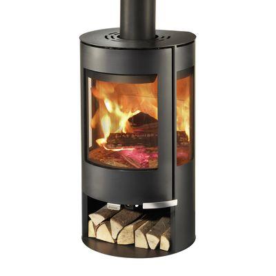 Stufa a legna aduro 9 6 nero prezzi e offerte online - Radiatore per stufa a legna ...