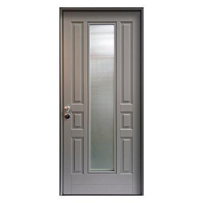 Porta blindata Look grigio L 90 x H 210 cm dx: prezzi e offerte online