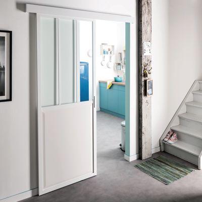 Porta da interno scorrevole Atelier 86 x H 215 cm reversibile ...