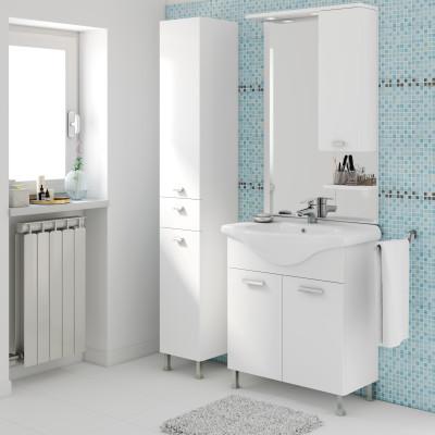 bagno mobile bagno rimini bianco l 75 cm 35927024