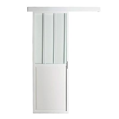 Porta da interno scorrevole atelier 86 x h 215 cm reversibile prezzi e offerte online - Offerte porte da interno ...