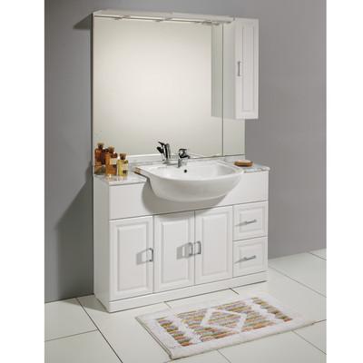 Mobile bagno Paola bianco L 120 cm: prezzi e offerte online