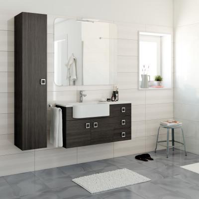 leroy merlin mobili x bagno mobile bagno florida grigio scuro l cm prezzi e offerte