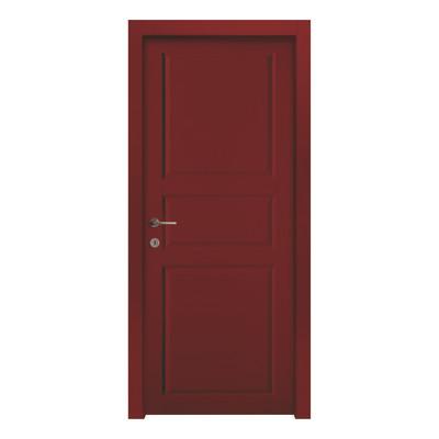 Porta da interno battente new york red rosso 90 x h 210 cm dx prezzi e offerte online - Offerte porte da interno ...
