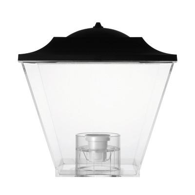 Diffusore per lampada da esterno old mini trasparente for Illuminazione da esterno leroy merlin