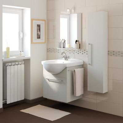 Home Bagno Mobili bagno Mobile bagno Ginevra grigio L 58 cm