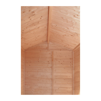 Casetta in legno tata 175 x 196 cm spessore 14 mm prezzi for Casetta legno bambini leroy merlin
