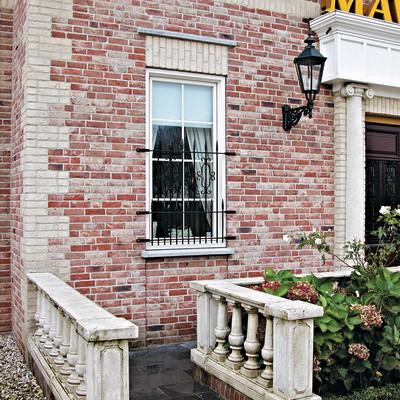 Rivestimento decorativo maison rosso mattone prezzi e offerte online - Piastrelle per facciate esterne ...
