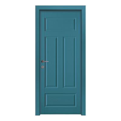 Porta da interno battente coconut groove blue azzurro 60 x - Porte da interno offerte ...