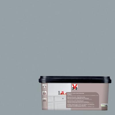 Smalto mobili v33 grigio chiaro satinato 2 l prezzi e for Mensole termosifoni leroy merlin