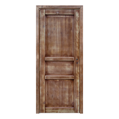 Porta da interno battente old town walnut noce sbiancato 70 x h 210 cm reversibile prezzi e - Offerte porte da interno ...
