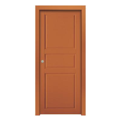 Porta da interno scorrevole new york orange arancio 70 x h 210 cm reversibile prezzi e offerte - Offerte porte da interno ...