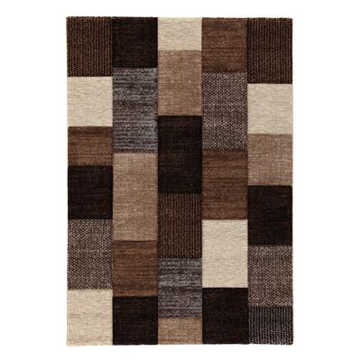 Tappeto textures beige marrone 160 x 230 cm prezzi e offerte online - Tappeto bagno marrone ...