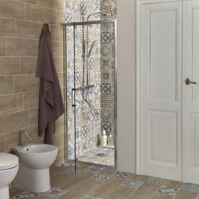 Piastrella oural 20 x 60 beige naturale prezzi e offerte - Carrelage adhesif salle de bain leroy merlin ...