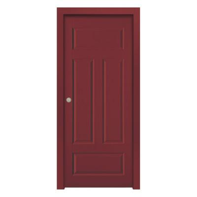 Porta da interno scorrevole coconut groove red rosso 70 x h 210 cm reversibile prezzi e offerte - Offerte porte da interno ...