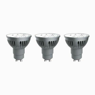 3 lampadine LED Lexman GU10 =50W luce calda 36°: prezzi e offerte online