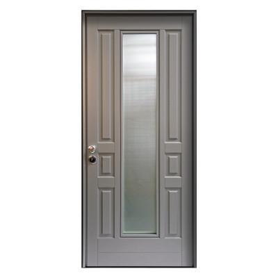 porta blindata look grigio l 90 x h 210 cm dx prezzi e