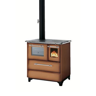 Cucina a legna betty 35 marrone prezzi e offerte online - Cucina economica a legna leroy merlin ...