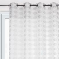 Tenda Ameliana bianco 135 x 280 cm