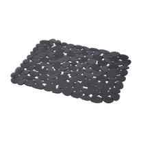 Tappetino lavello grigio L 40 x P 30,5 x H 0,2 cm