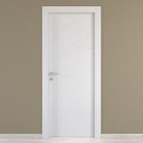 Porta da interno battente Wild bianco 70 x H 210 cm dx