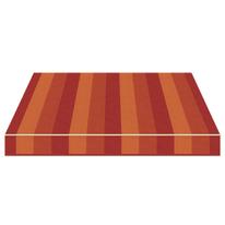 Tenda da sole a caduta cassonata Tempotest Parà 240 x 250 cm marrone/bordeaux/arancione Cod. 966/426