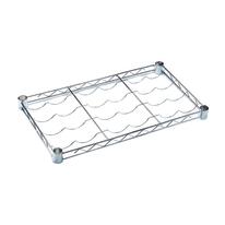 Ripiano portabottiglie Spaceo Chrome Style+ L 60 x P 35 x H 4 cm